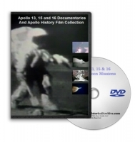 Apollo 13, 15 & 16 Documentary Film Collection