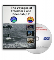 Freedom & Friendship 7 Mercury Space Missions DVD