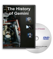 NASA Gemini Space Mission History & Neil Armstrong DVD