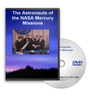 Astronauts of NASA Mercury on DVD