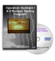 Operation Hardtack Nuclear Testing Program on DVD