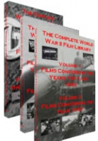 The Complete World War II Film Library in 6 DVDs