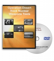 Operation Desert Rock DVD - Nuclear Radiation Testing on U.S Troops