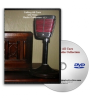 Calling All Cars Old Time Radio MP3 Collection on DVD