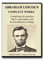 Abraham Lincoln, Complete Works on CD