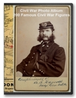 Civil War Photo Album - 200 Famous Civil War Figures on CD