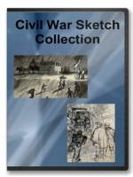 Civil War Sketches Collection on CD