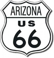 Arizona Route 66 Road Tin Sign