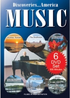 Collection of 6 Discoveries America Music DVDs