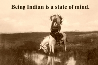 Being Indian 11x17 Poster