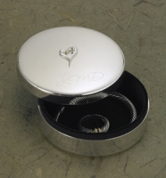 Silver Plated Jewelry Box with Raised Heart
