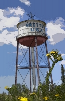 Britten Water Tower 11x17 Poster.