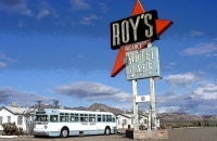 Roy's in Amboy, California - 11x17 Poster