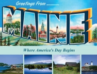 Maine Greetings Postcard