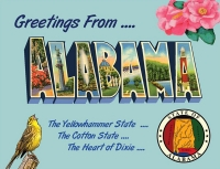 Alabama Greetings Postcard
