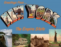 New York Greetings Postcard