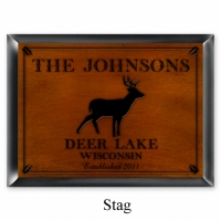 Cabin Style Personalized Signs