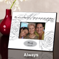 Personalized Memorial Frames