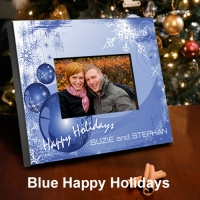 Personalized Holiday Frames