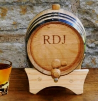 Mini-Oak Whisky Barrel (Personalized)