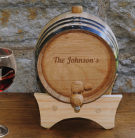 Mini-Oak Wine Cask (Personalized)