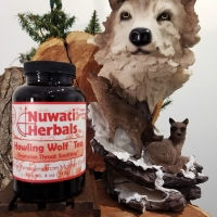 Howling Wolf Tea (Promotes Throat Soothing) -  2 oz