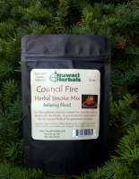 Council Fire Herbal Smoke Mix (Relaxing Blend - 2 oz)