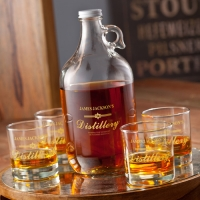 Distillery Growler Set (Personalized)