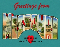 Missouri Greetings Custom Postcard