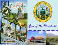 Idaho Greetings Custom Postcard