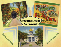 Vermont Greetings Custom Postcard