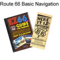 Route 66 Basic Navigation - EZ66 Guide & Map Series