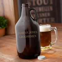 Amber Beer Growler (Personalized)