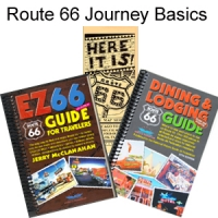 Route 66 Journey - EZ66 Guide, Route 66 Dining Guide and Map Series