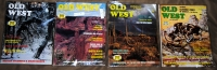 1973 - Old West Magazine - Full Year - 4 Issues