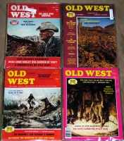 1977 - Old West Magazine - Full Year - 4 Issues
