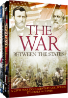 THE WAR BETWEEN THE STATES (A Civil War Documentary Collection) 7 Disc DVD