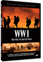 WWI (THE WAR TO END ALL WARS) 3 Disc DVD
