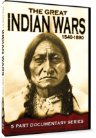 GREAT INDIAN WARS (1540 TO 1890) DVD