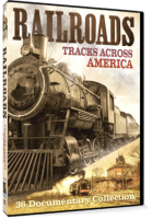 RAILROADS (TRACKS ACROSS AMERICA) 2 Disc DVD