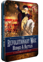 The Revolutionary War (Heroes and Battles) 4 Documentary Set - DVD