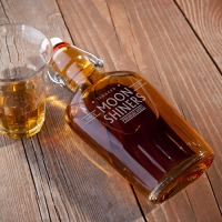 Vintage Glass Flask Replica (Personalized)