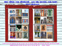 Americana Whimsical Windows Print or Canvas - Starting @ $16.99