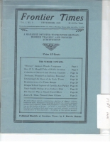 1923 - December Frontier Times (Reproduction)