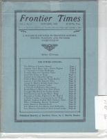 1924 - January Frontier Times (Reproduction)