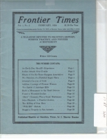 1924 - February Frontier Times (Reproduction)