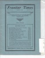 1924 - March Frontier Times (Reproduction)