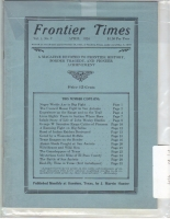 1924 - April Frontier Times (Reproduction)