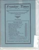 1924 - May Frontier Times (Reproduction)