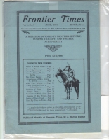 1924 - June Frontier Times (Reproduction)